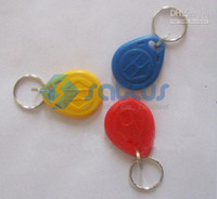 Wholesale Keyfobs EM card Keychain Type EM ID Access Control Card HIGH sensive smart card Keyfob Satcus