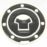 Wholesale Carbon Fiber Fuel Tank Motorcycle Gas Cap Cover Pad For Honda