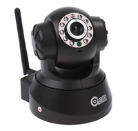 Wholesale Wireless WIFI IP Camera IR LED Way Audio Nightvision Freeshipping AB1187