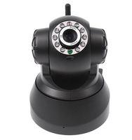 Wholesale WIFI IP Camera Webcam Night Vision nightvision10 LED IR Dual Audio Freeshipping AB1190