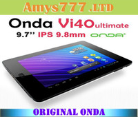 Wholesale 9 quot inch Onda Vi40 Ultimate Android Tablet PC GHz GB DDR3 GB Capacitive IPS Screen