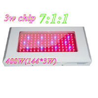 Wholesale 3w Epistar Chip W W LED grow light led Panel plant lamp Blue Red Orange by EMS