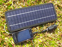 Wholesale 12V System W Portable Solar Panel Car Boat Motor Vehicle Charger drop shipping