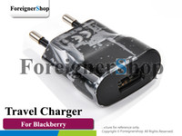Wholesale 100 OEM For Blackberry Wall USB Power Europe Plug EU Charger Adapter Travel ASY