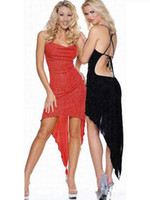 Wholesale PPC Sexy Lingerie Red Floral Sexy Mesh Lace Cup Gown Sexy Party Wear Dress Drop Shipping