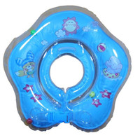 Wholesale Baby Swim Rings Children Baby Beach Toys infant Inflatable Float Collar Neck Ring in Beach Mix Color