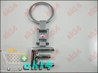 Wholesale Mix Order C E S Series Zine Alloy Car Key Chain Ring Key Chains WREWT