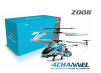 Wholesale New Version Bigger than Z008 ch AVATAR RC helicopter with GYRO and metal body