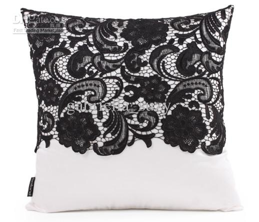 #351 New Fashion Chinese Black Embroidery Design Pillow/cushion /pillow Case Cover Min Online with $20.88/Piece on Gabriella_suzy\u0027s Store | DHgate.com