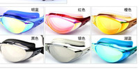 Wholesale waterproof and UV resistance swimming mirror swimming swimming goggles swim glasses603