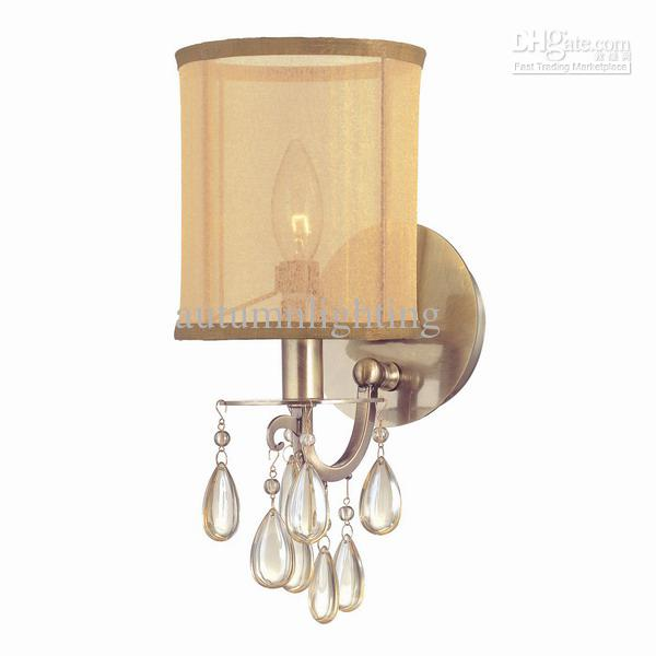 Wholesale Wall Lamps - Buy One-Light Wall Sconce,Antique Brass Or