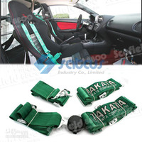 Wholesale Racing Satefy Seat Belt Car Seat Belt with fixed point and intches Satcus