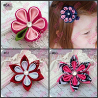 Hair Clips ribbon Children's Day baby hairpins hair clips Girls' hair Accessories hairclips girl hair pin girl's flower barrette
