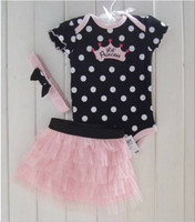 Girl baby band clothes - Baby Clothing Sey Baby Romper Girl Bll Gwon hair band clothing sets Girl Babys Dress Babys Wear