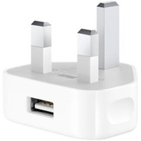 Wholesale 1000pcs DHL UK Plug AC power USB Wall Charger adapter for iPhone3G4G iPodS Hot sale