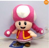 mario bros toy - Super Mario Bros TOADETTE quot Figure Plush Doll Toy