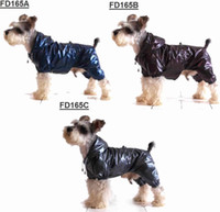 Wholesale top grade RibStop double layer four legged raincoat dog waterproof rainwear dog clothes dog coats