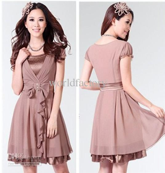 Free Shipping Wholesale Korea Women Dress Fashion Dresses New Fashion