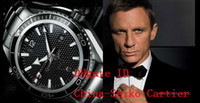 007 - Luxury James Bond Mens Watch Professional Planet Ocean Co Axial Dive Wristwatch Men Watches