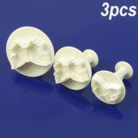 Wholesale Butterfly Plunger Cutter Mold Sugarcraft Fondant Cake Decorating DIY Tool
