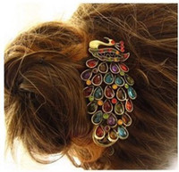 Wholesale new popular gold color hair clips