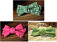 imported fabric - Hairjewellery Double Bow Top Clip Barrette Side Clamping Import Bow