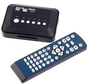 Wholesale DHL Free Full HD Media player P Mini Multi Media Player with Remote Control HDMI Output AB1218
