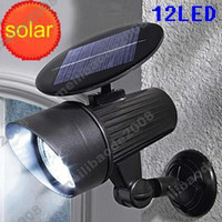 Wholesale 2pcs H88 Solar LED Plastic Motion Sensor PIR Wall Mount Flood Spot