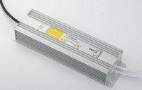Wholesale DHL W IP67 Waterproof Constant Current LED Driver AC170 V to DC v V A for W High Power LED Light