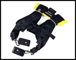 Double Shoulder Belt Strap for 2 SLR DSLR Camera