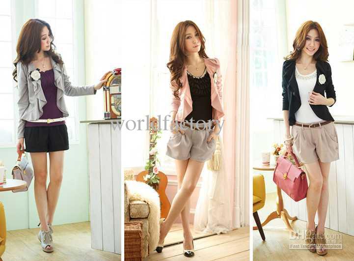 Korean Fashion Women Jacket Ladies Casual Cardigan Lovely Small Coat