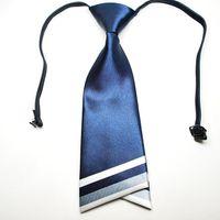 Wholesale NEW women s ties women ascot solid color cravat navy tie neck tie for women colors necktie L07