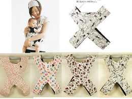 HOT Baby Carriers baby Slings Printed Carrier X-type 5 color 20 pcs lot