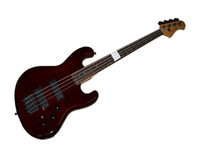 Wholesale Reduction Sale Strings BASS Guitar Brown Electric Bass Guitar in stock Chinese guitar Musical Instruments