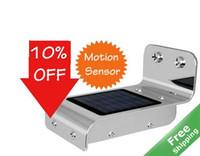 Wholesale Solar LED light Motion sensor solar powered over Hrs run time