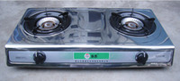 Wholesale Bio gas two burner stove stainless steel stove KW Pa