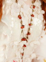 Wholesale New Thai style Fashion Vintage Sweet Cherry necklace jewelry