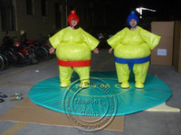 Wholesale Lovely Fat Japanese Judo Player Mascot Costumes Halloween Costume Outfit Fancy Dress Suit Adult Size