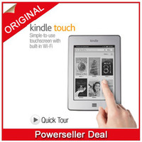 Wholesale Amazon Kindle Touch Wi Fi quot E Ink Display includes Special Offers amp Sponsored Screensavers
