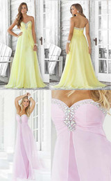 Wholesale custom made hot design sexy chiffon bead prom dress Social gathering Most popular
