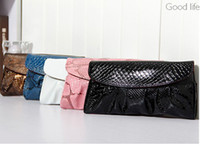 Wholesale Korean version of the summer new candy color chain handbag retro envelope shoulder bag diagonal