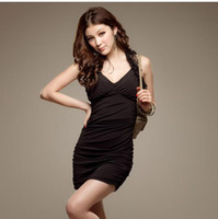 Wholesale Fashionable Condole Belt Dress Woman s Slim Base Skirt Summer Women s Fashion Best Quality