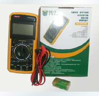 Wholesale New BEST DT9205A Handheld LCD AC DC Volt Amp Ohm Digital Multimeter Electrical
