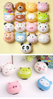 Wholesale children cute Little cartoon family automatic toothbrush holder dandys