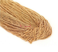 Wholesale 0 mm iron chain Jewelry Accessory necklace strip Mix color