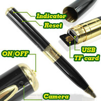 Wholesale NEW Video Record Camera Pen HD DVR Micro SD Card Hidden without Retail Box