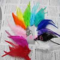 Wholesale rooster feather inches or cm feathers for sinamay hat party mask