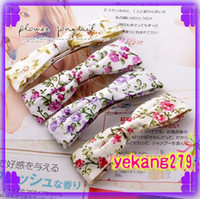 Wholesale 60PCS bow cloth hairpins bowknot fabric hair clips barrettes clamps tiaras headbands