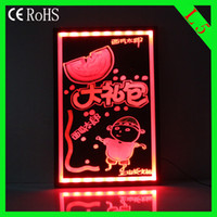Wholesale L5 cm led writing board led message board Advertising acrylic led sign LED DISPLAY BOARD