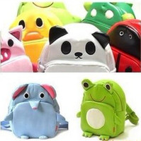 Wholesale Super cute cartoon animal model bag children backpack